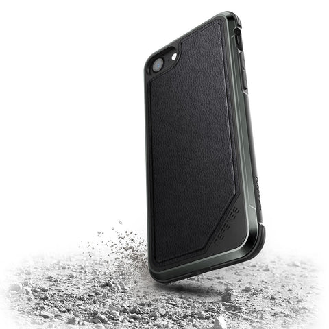 X-Doria Defense Lux Apple iPhone 7/8 Black Leather
