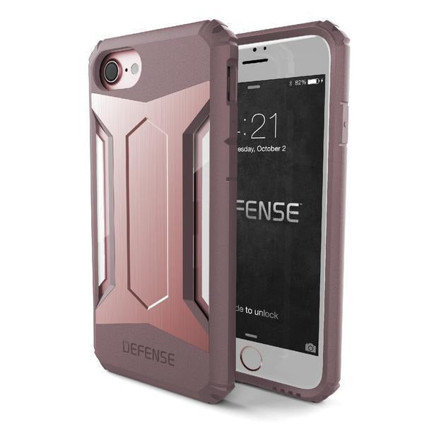 X-Doria Defense Gear for Apple iPhone 7/8 Rose Gold