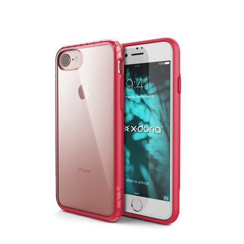 X-Doria Scene for Apple iPhone 7/8 Rose Red