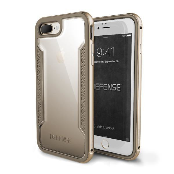 X-Doria Defense Shield Drop Certified 3M case Apple iPhone 7 Plus/8 Plus GOLD - Mobile Technica