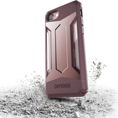 X-Doria Defense Gear for Apple iPhone 7/8 Plus Rose Gold