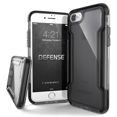 X-Doria Defense Clear for Apple iPhone 7/8 Black