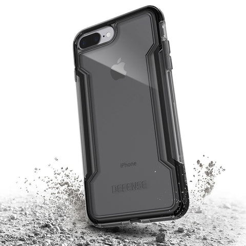 X-Doria Defense Clear for Apple iPhone 7/8 Plus Black