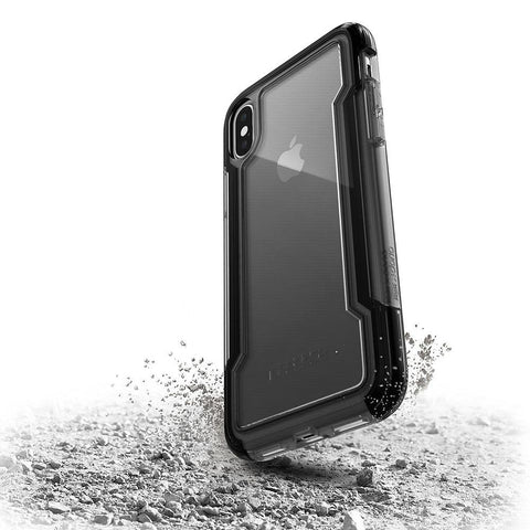 X-Doria Defense Clear for Apple iPhone X Black