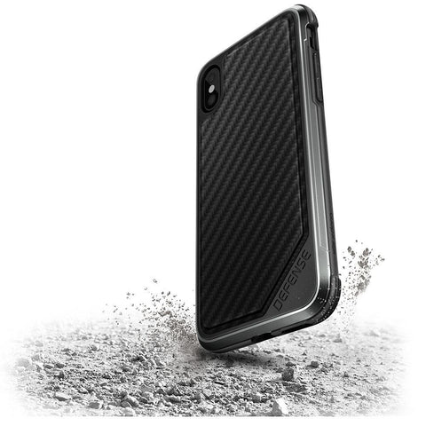 X-Doria Defense Lux Apple iPhone X Black Carbon