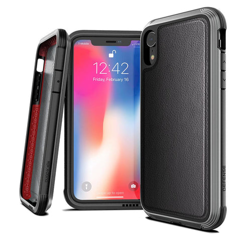 X-Doria Defense Lux DropShield Apple iPhone XR Leather Case