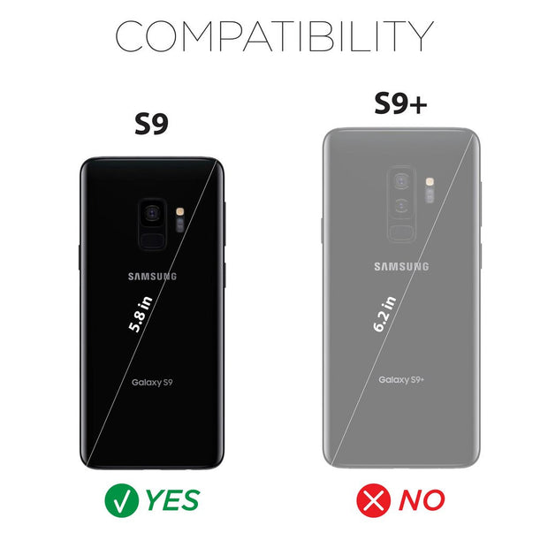X-Doria Defense Lux for Samsung Galaxy S9 Compatibility