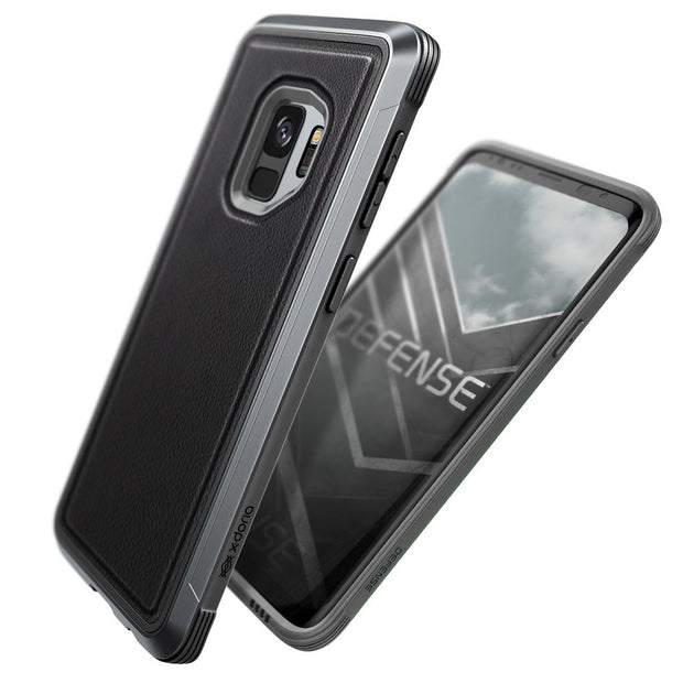 X-Doria Defense Lux for Samsung Galaxy S9 Black Leather