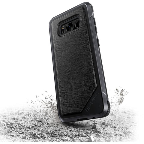 X-Doria Defense Lux for Samsung Galaxy S8 Plus Black Leather