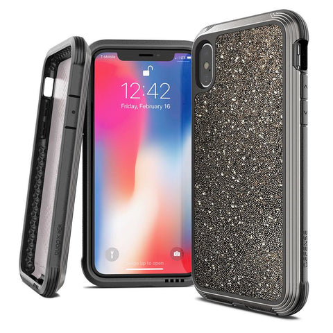 X-Doria Defense 3M Drop Certified Case Lux Apple iPhone XS Max Glitter