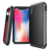 X-Doria Defense Lux 20ft Apple iPhone XS Max Leather Protective Case Cover - Mobile Technica