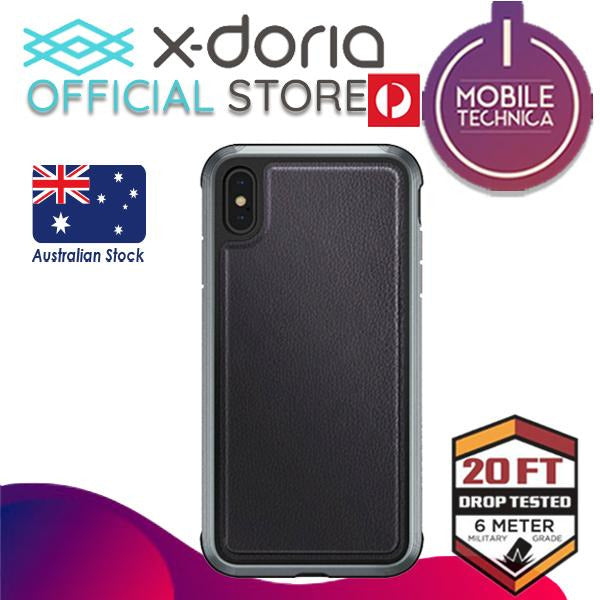 X-Doria Defense Lux Pro Apple iPhone XS Max Leather Protective Case Cover