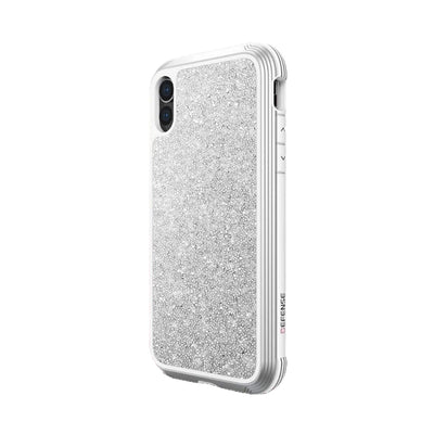 iPhone X/XS Defense Lux White Glitter