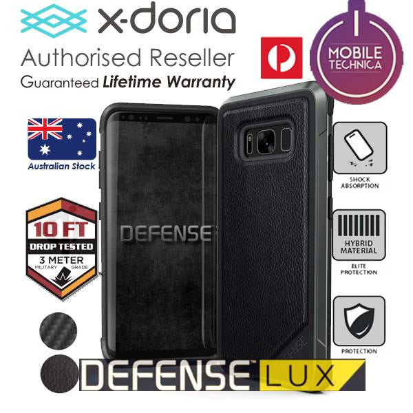 X-Doria Defense Lux Case Samsung Galaxy S8 Plus