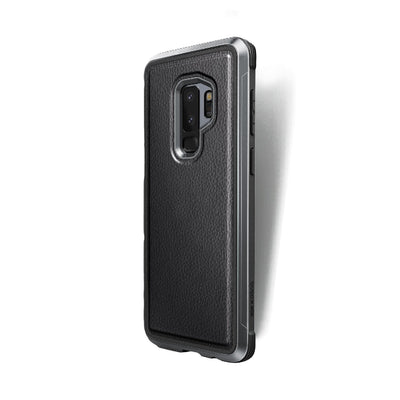 Samsung Galaxy S9 Plus Defense Lux Black Leather - Mobile Technica