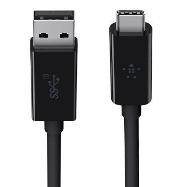 Belkin USB-C to 3.1 USB-A Cable Black