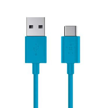 Belkin MIXIT UP USB-A 2.0 to USB-C Cable Blue