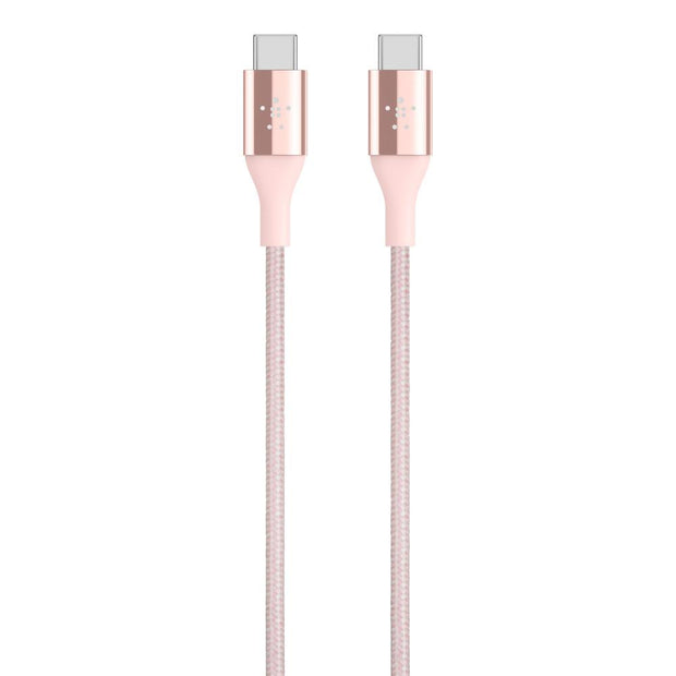 Belkin MIXIT DuraTek USB-C to USB-C Cable Rose Gold