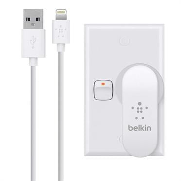 Belkin Dual AC Charger with Lightning Cable White