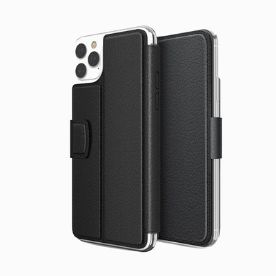 X-doria Genuine Folio Case iPhone 11 / Pro / Max Black - Mobile Technica
