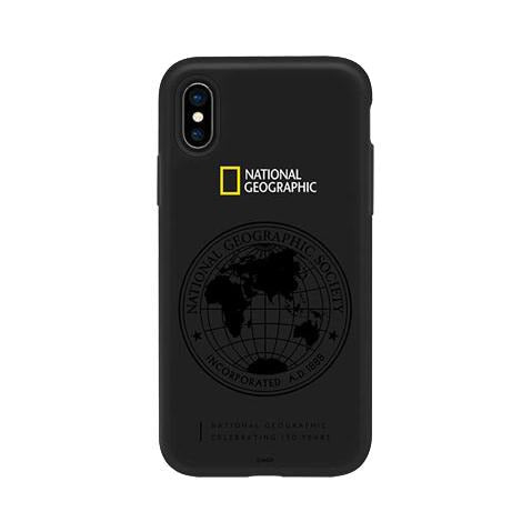National Geographic Double Protective Case Apple iPhone X Black
