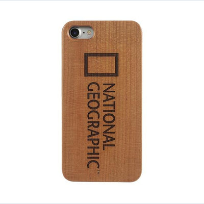 Nat Geo Nature Wood Case Apple iPhone 7/8 Cherry Wood