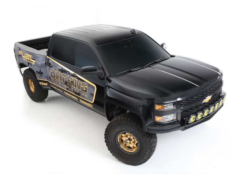 2wd Long Travel 2015 Chevy Silverado
