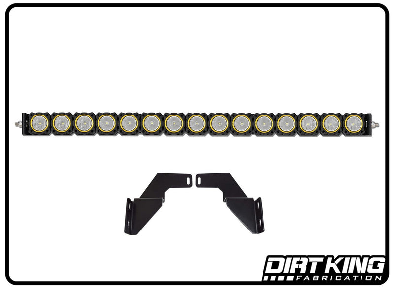 "30"" KC FLEX™ LED LOWER BUMPER MOUNT SYSTEM FOR 05-15 Tacoma"