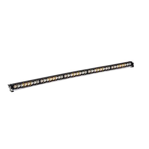 "S8 LED Light Bars | Clear | Straight (Sizes: 10""-50"")"