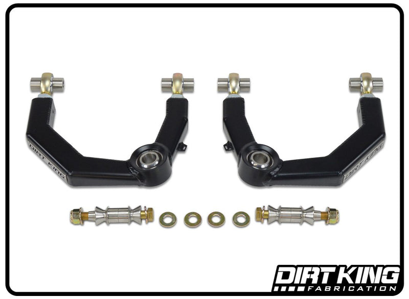 Dirt King Fabrication toyota tacoma heim rod end upper control arms (uca's) with uniball extended wheel travel offroad
