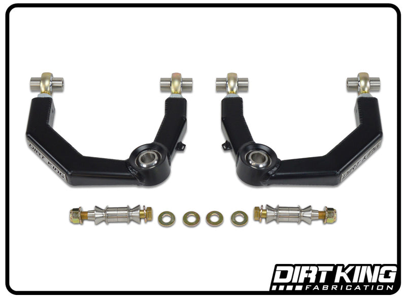 Toyota 4Runner/ FJ Cruiser Heim Upper Control Arms by Dirt King Fabrication | Top View