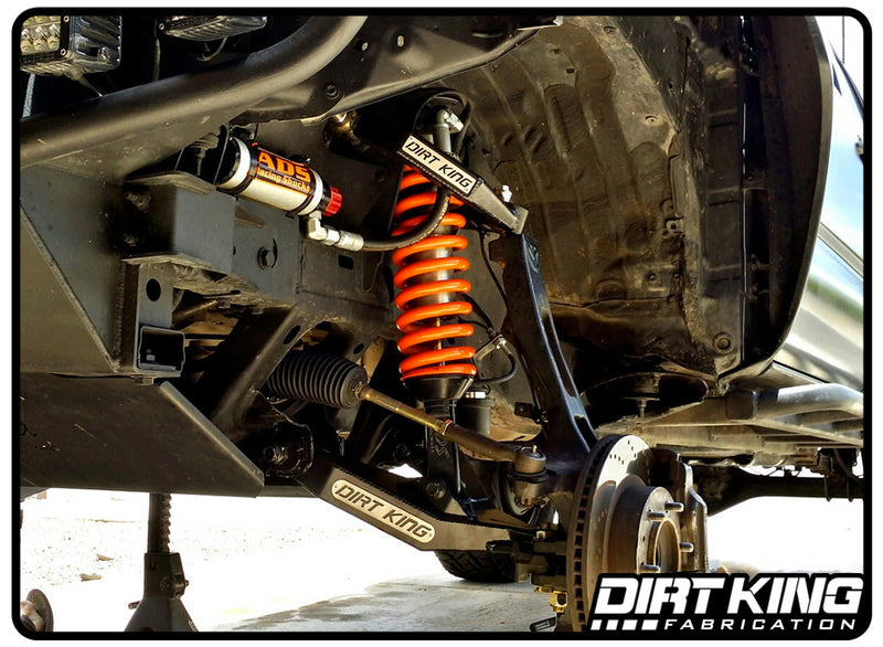 Toyota Tacoma Performance Lower Control Arms by Dirt King Fabrication | Installed
