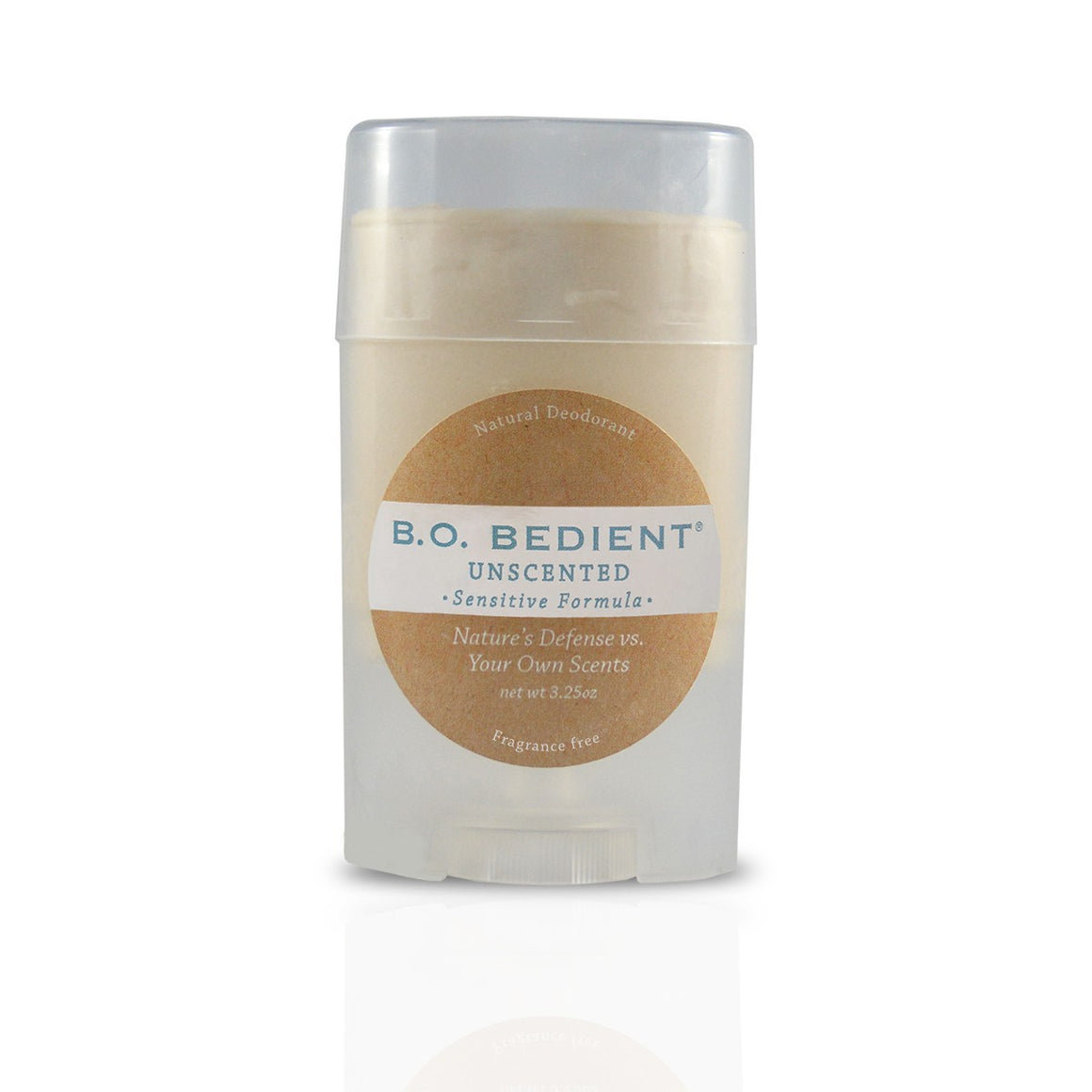 All Natural Deodorant - Unscented Sensitive Stick