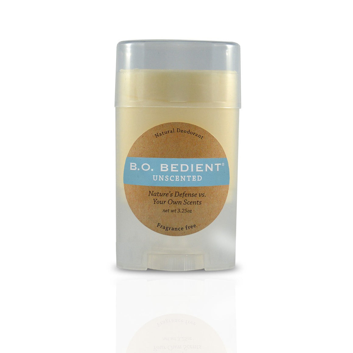 All Natural Deodorant - Unscented Stick