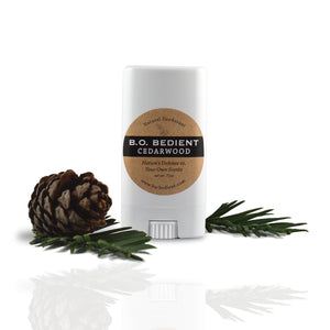 All Natural Deodorant - Cedarwood Travel Stick