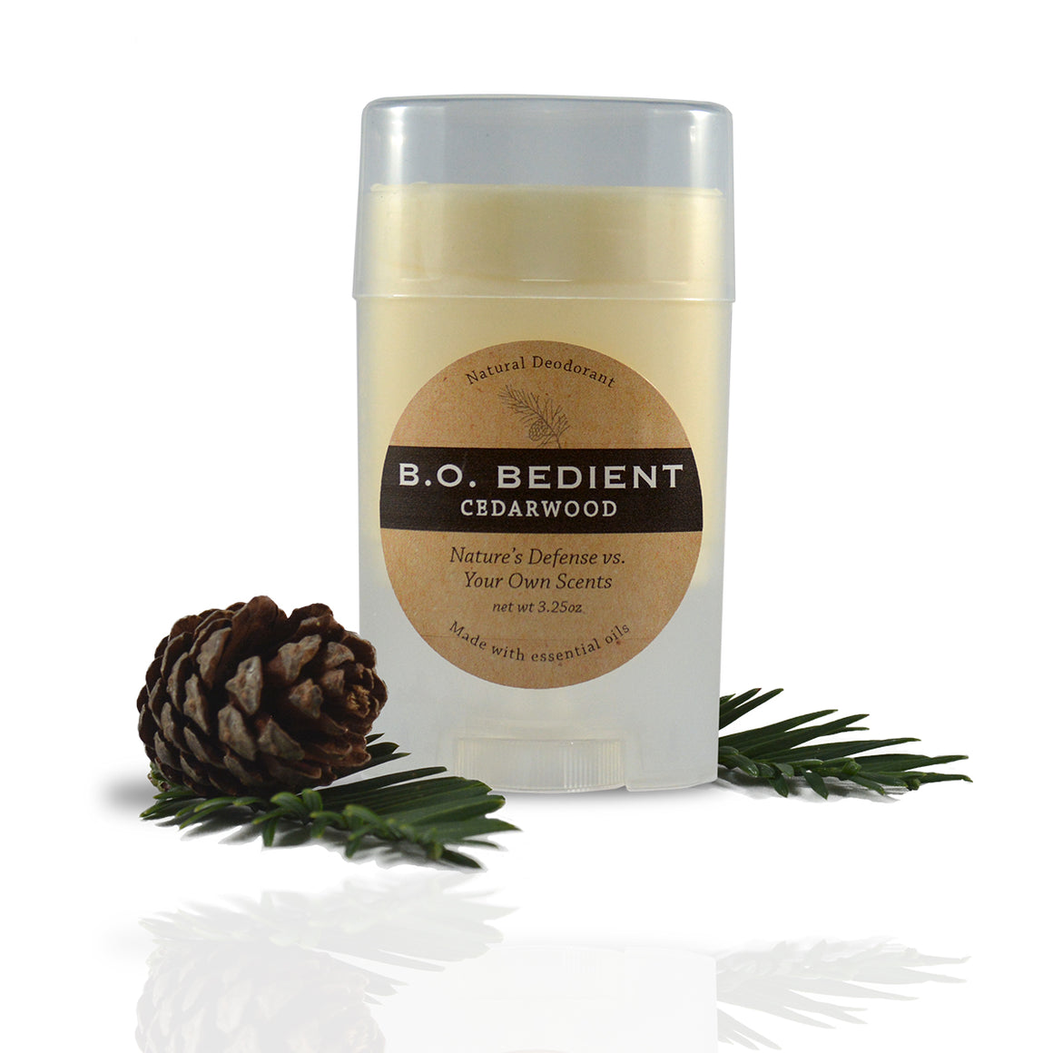 All Natural Deodorant - Cedarwood Stick