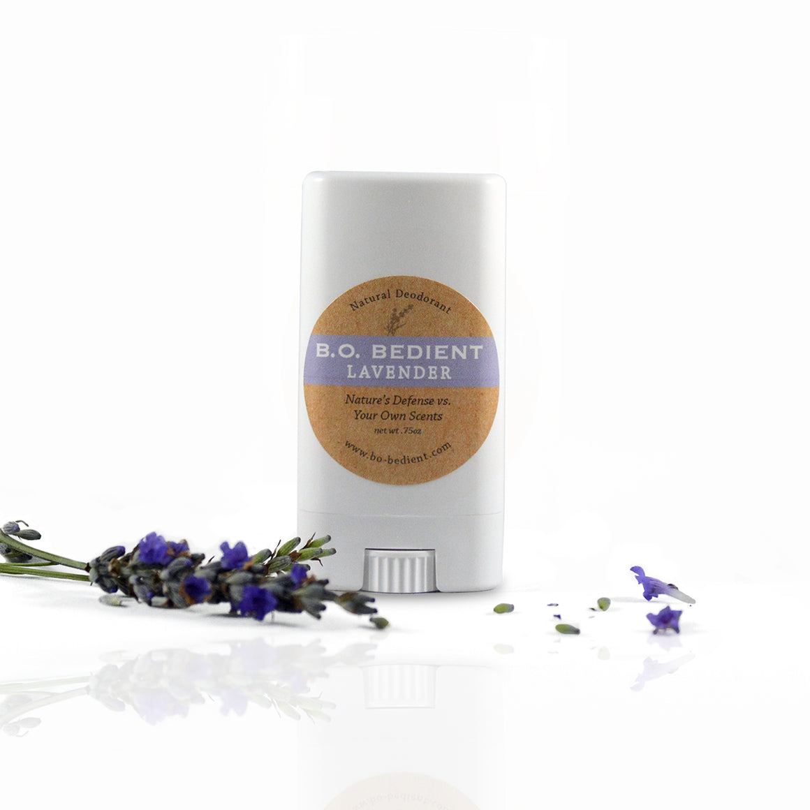 All Natural Deodorant - Lavender Travel Stick