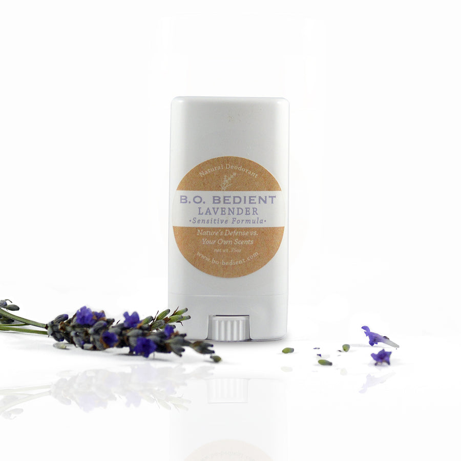 All Natural Deodorant - Lavender Sensitive Travel Stick