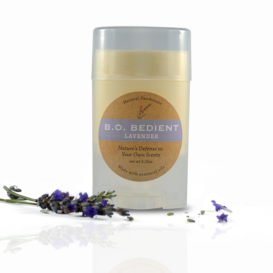All Natural Deodorant - Lavender Stick