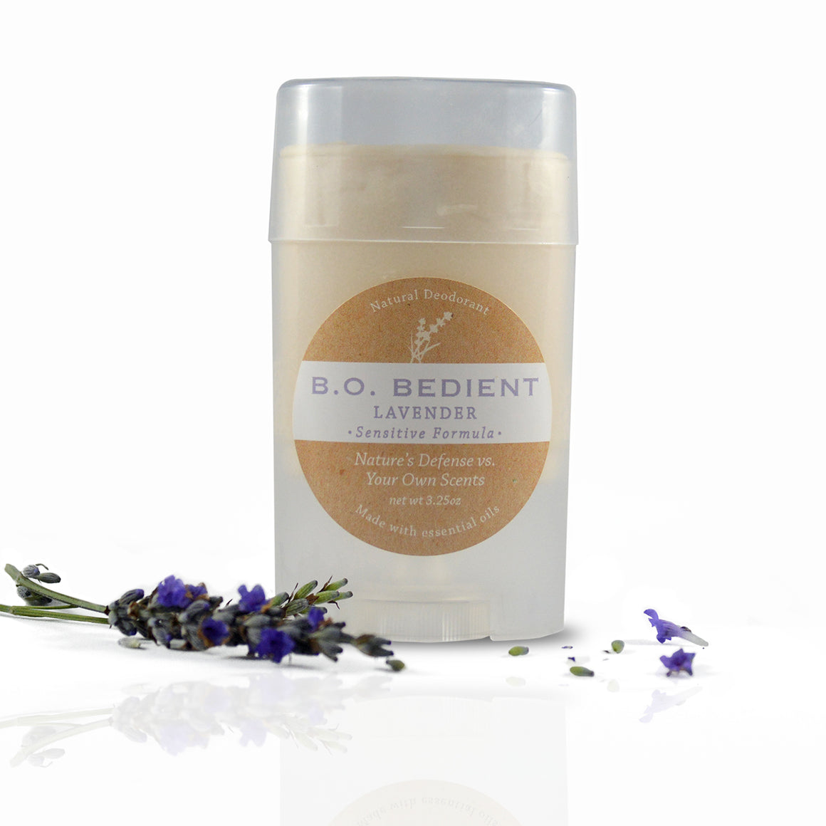 All Natural Deodorant - Lavender Sensitive Stick