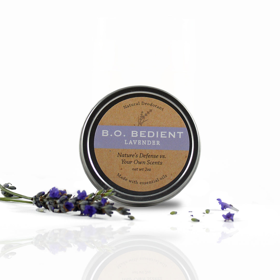 All Natural Deodorant - Lavender Tin