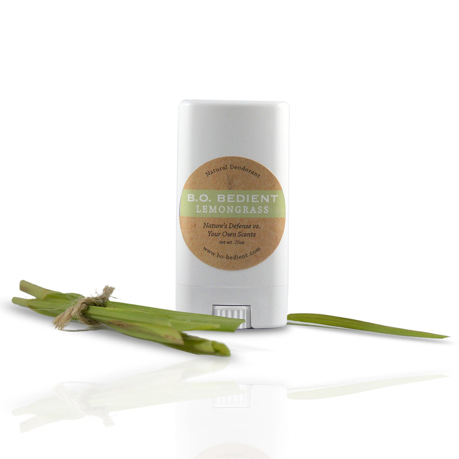 All Natural Deodorant - Lemongrass Travel Stick