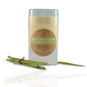 All Natural Deodorant - Lemongrass Stick