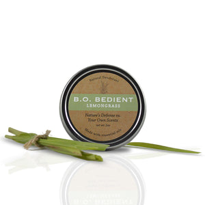 All Natural Deodorant - Lemongrass Tin
