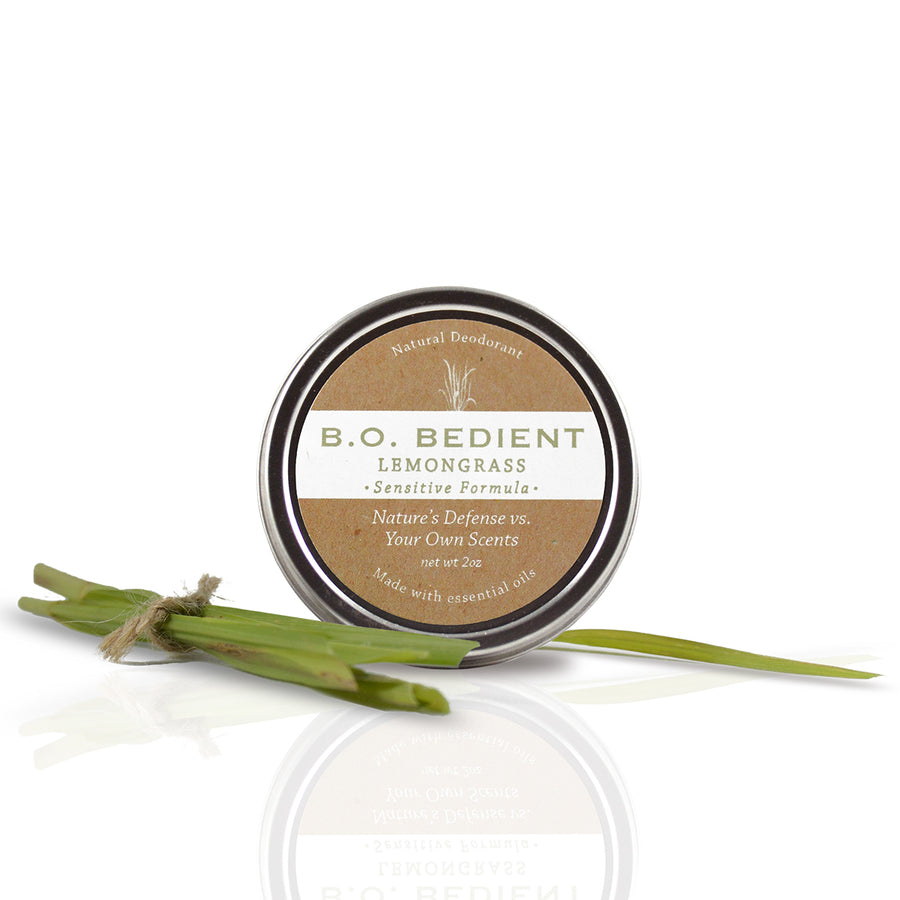 All Natural Deodorant - Lemongrass Sensitive Tin