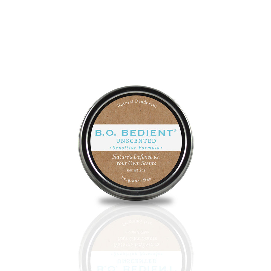 All Natural Deodorant - Unscented Sensitive Tin