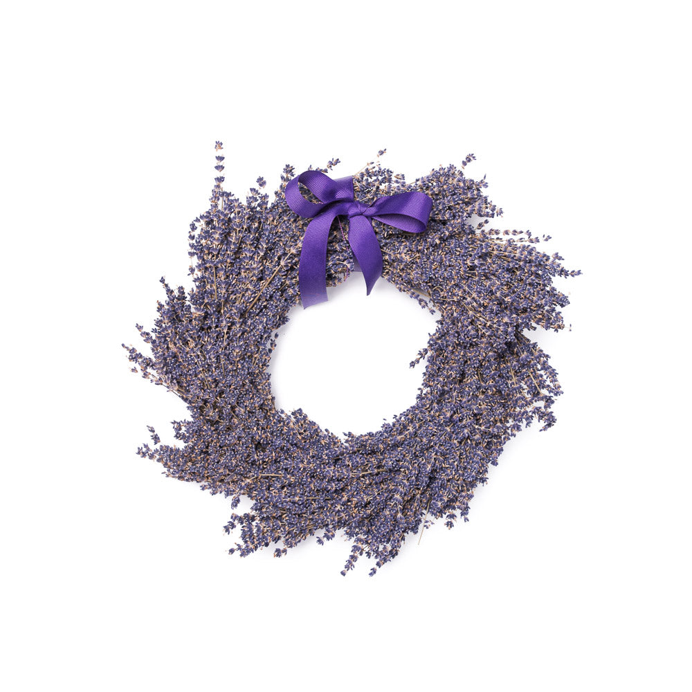 Lavender Wreath (Dried)