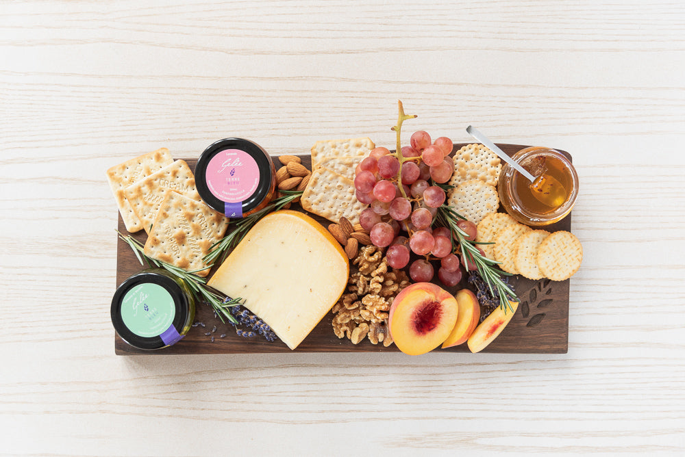 Terre Bleu Live Edge Walnut Cheese Board