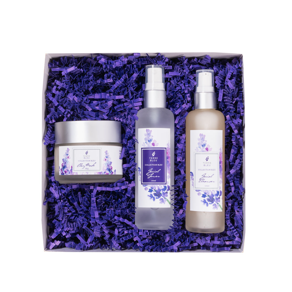 Collection Bleu Lavender Skincare Set