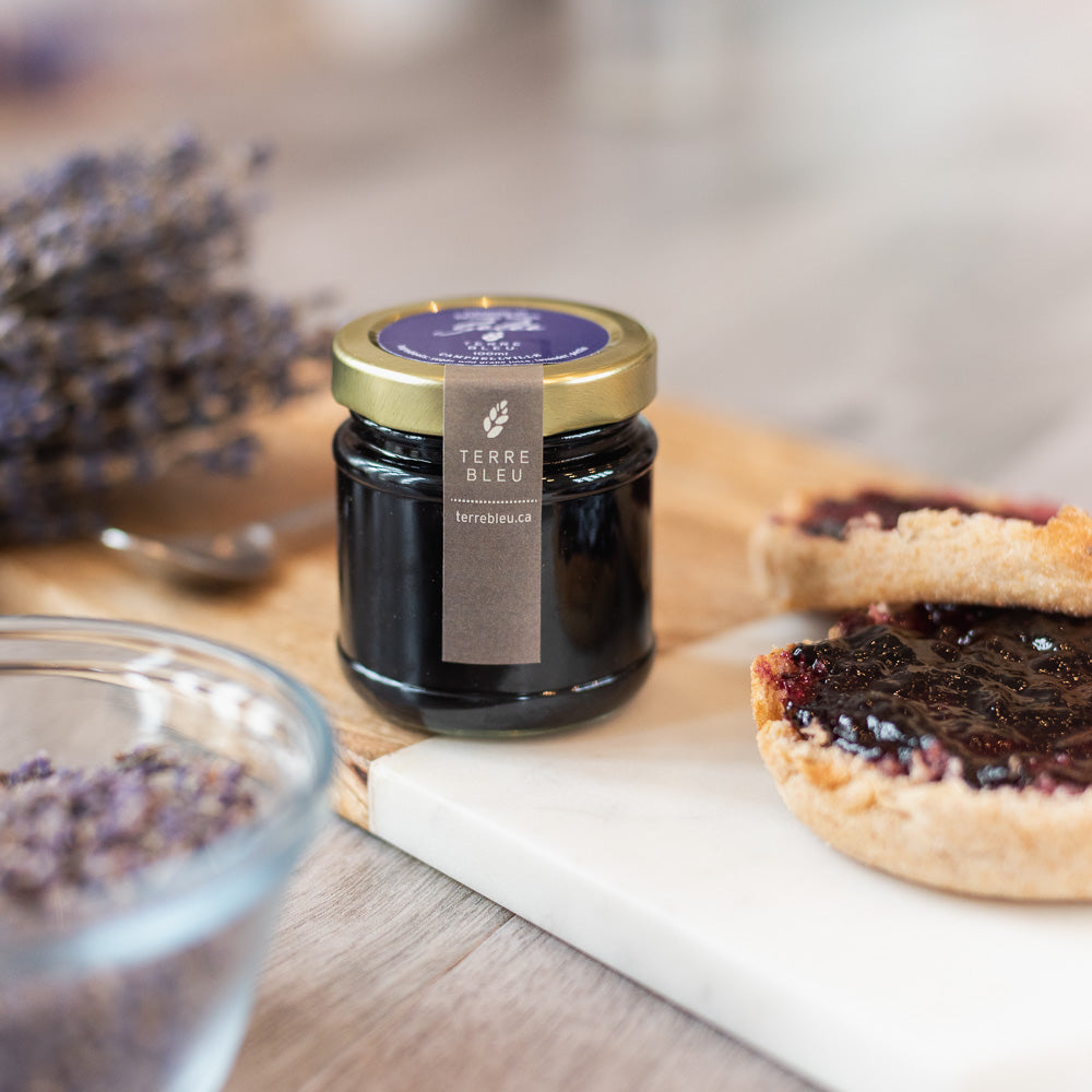 Wild Grape Lavender Jelly